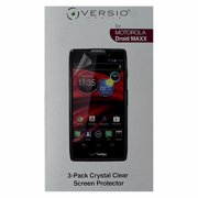Versio Mobile 3-Pack Screen Protector for Motorola Droid Maxx- Clear