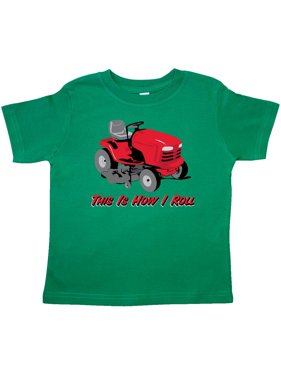 This Is How I Roll Mower Toddler T-Shirt
