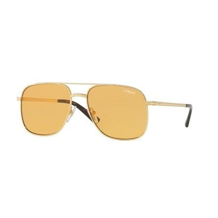Vogue Women's Gigi Hadid VO4083S-280/7-55 Gold Aviator Sunglasses