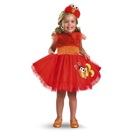 SESAME STREET ELMO FRILLY 4-6](Elmo Costume Rental)