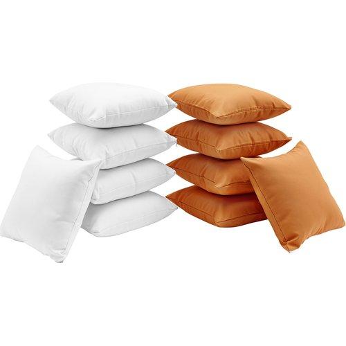 Modway Convene 10 Piece Outdoor Throw Pillow Set Walmart Com