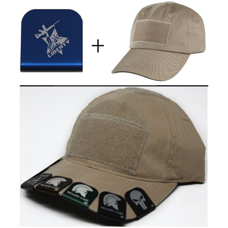 STATUE OF LIBERTY WITH AR 2 Cap Crown Rim Brim-It Blue + Tan Hat - Statue Of Liberty Hats