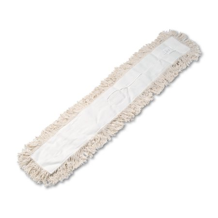 Hygrade Cotton (Boardwalk Industrial Dust Mop Head, Hygrade Cotton, 48w x 5d, White -BWK1348 )