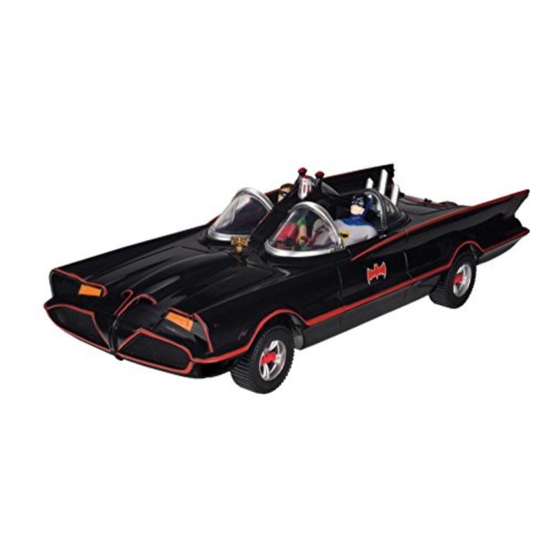 """DC Comics Batman Classic TV Series Batmobile, 6"""" Batman and Robin Action Figures"""