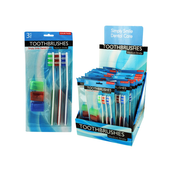 Toothbrush Set Countertop Display (Pack Of 12)