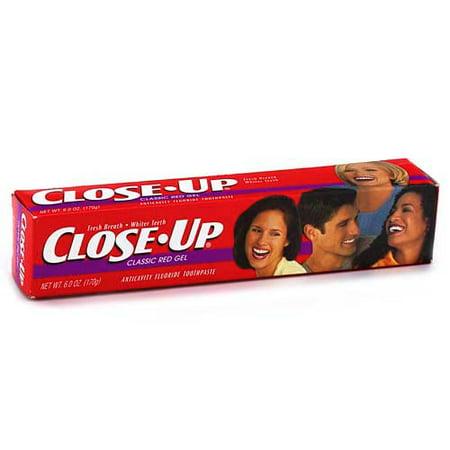 Close Up Cinnamon Red Gel Toothpaste, 6oz