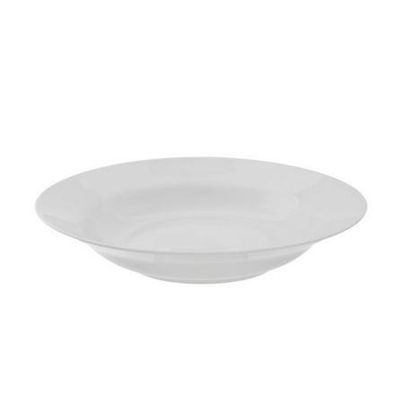 10 Strawberry Street Classic White Rim Soup Bowl in White (Set of 6) Classic Rimmed Soup Bowl