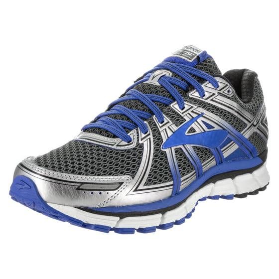 7ab1a2ffe24db brooks - brooks men s adrenaline gts 17 wide anthracite electric brooks blue  silver running shoe 11 2e men us - Walmart.com