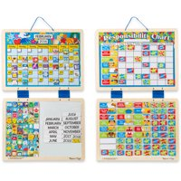 Melissa & Doug Kids' Magnetic Calendar and Responsibility Chart Set