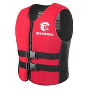 SAKINNO Water Sports Life Saving Vest for Kids/Adults Fishing Boating Kayaking Surfing Swimming