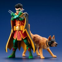 Super Sons Robin & Ace the Bat-Hound 2 Pack ARTFX+