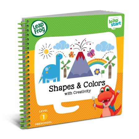 LeapFrog LeapStart Preschool Shapes & Colors Activity Book