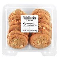 Freshness Guaranteed White Chocolate Macadamia Nut Cookies, 14 oz, 12 Count