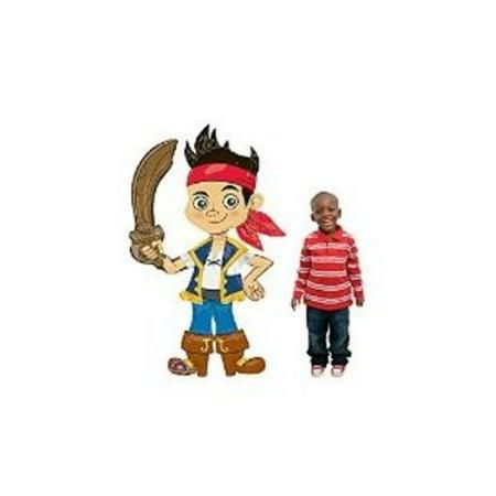 Jake & The Neverland Pirates - Jake 75 AirWalker Balloon - Jake And The Neverland Pirates Table Decorations