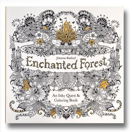 Johanna Basfords Enchanted Forest An Inky Quest And Coloring Book