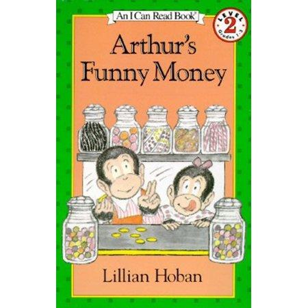 I Can Read! - Level 2: Arthur's Funny Money (Hardcover) Funny Money Folds