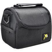 Xit Deluxe Carrying Case Camera, Camcorder, Accessories, Black