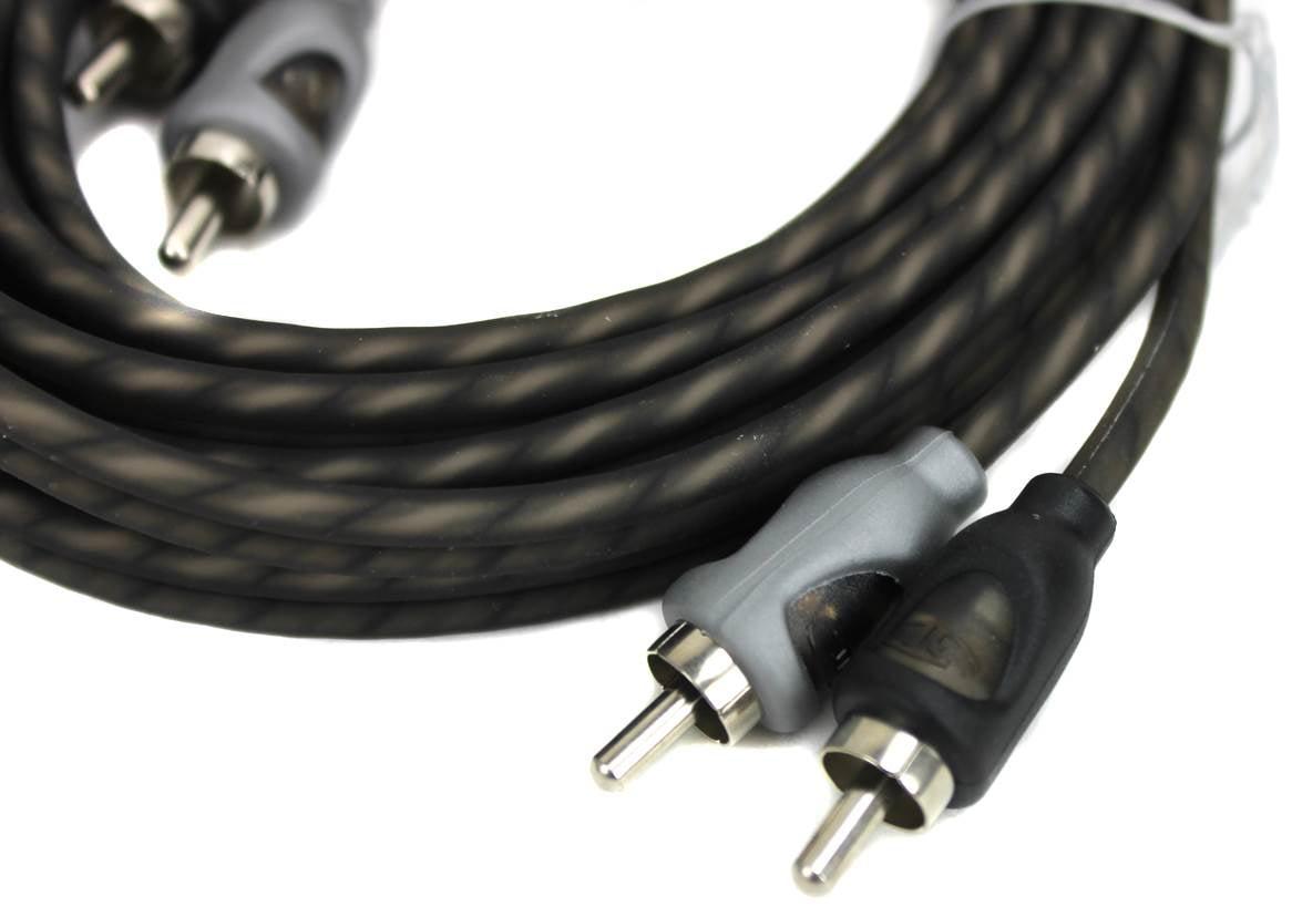 10 Feet Premium Dual Twist Signal Cable rfit10 Rockford Fosgate RFIT-10