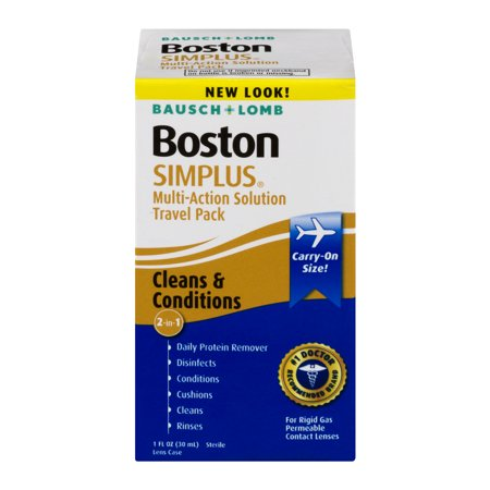Bausch + Lomb Boston Simplus Multi-Action Solution Travel Pack - 1 CT