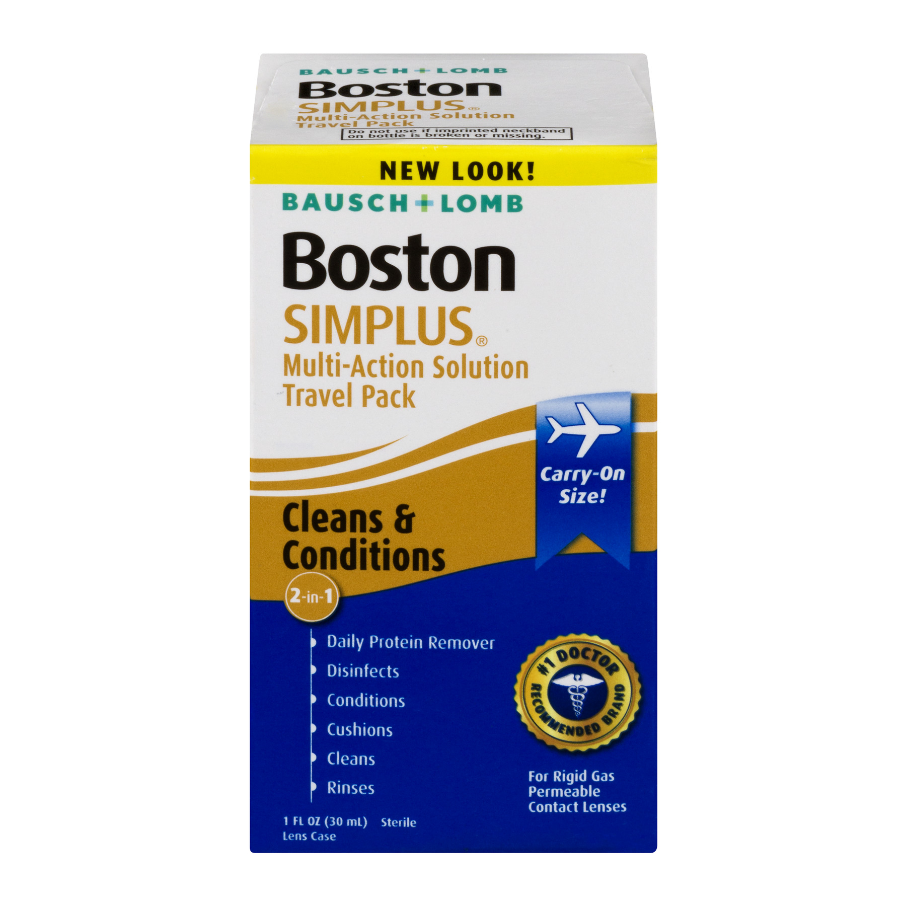 Bausch + Lomb Boston Simplus Multi-Action Solution Travel Pack - 1 CT1.0 FL OZ