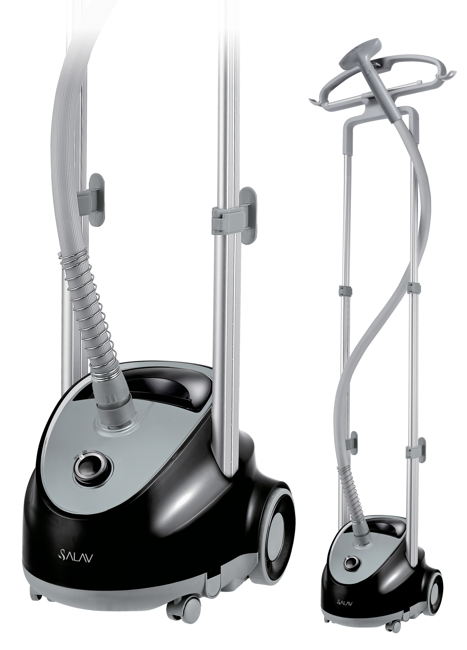 Click here to buy Salav Professional Series Garment Steamer, Black by Salav.