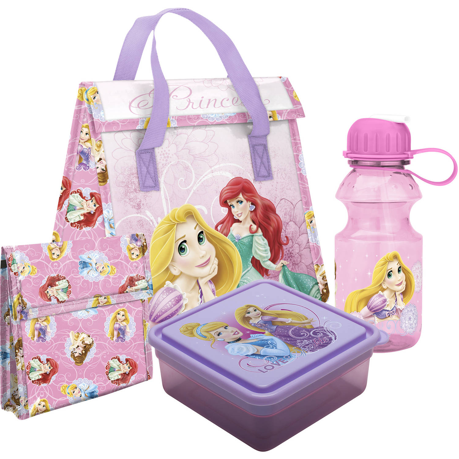Disney Princess 4-Piece Lunch Set