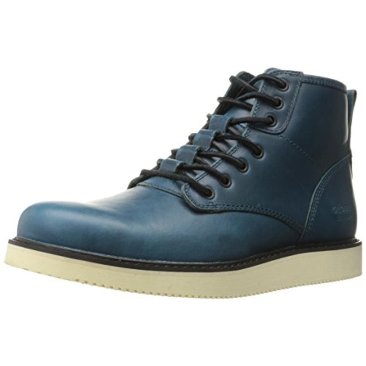 Click here to buy Globe Mens Nomad Leather Canvas Detailing Casual Boots by Globe.