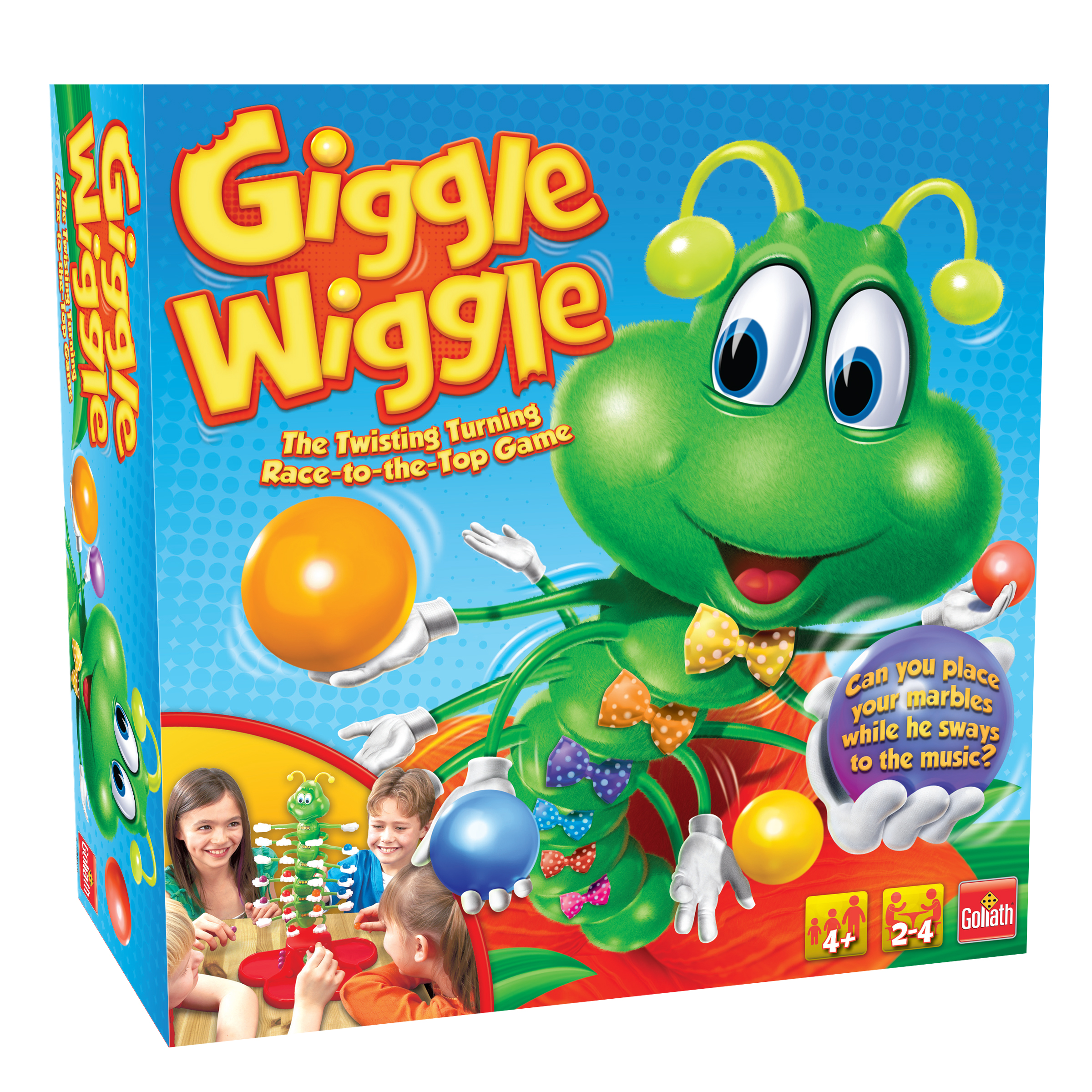 Giggle Wiggle Kids Game Ages 4 and Up by Goliath Games