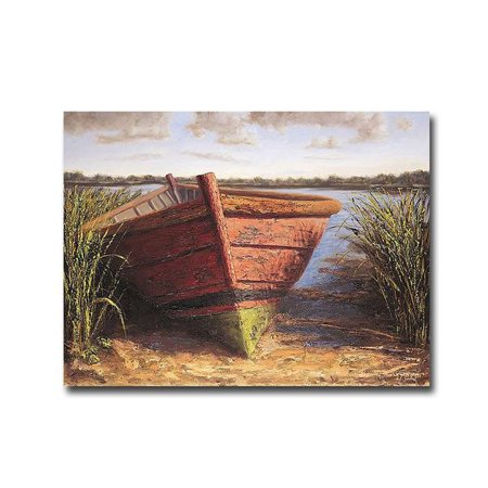 Nantucket Red by Karl Soderlund Premium Gallery-Wrapped Canvas Giclee Art - 12 x 16 x 1.5 in. - image 1 de 1