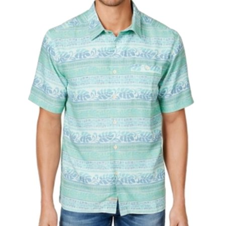 e8d5e1b1811 Quiksilver NEW Green Mens Size Medium M Waterman Tapas Button Down Shirt -  Walmart.com