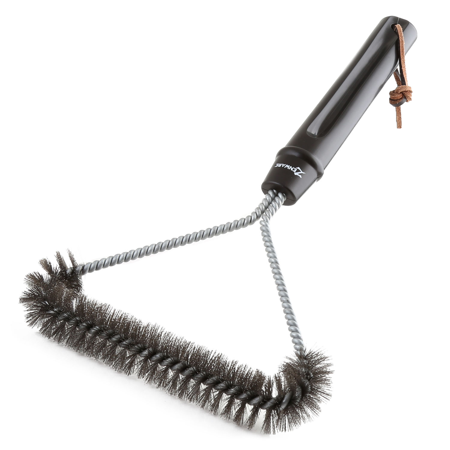 """Zenware Stainless Steel 12"""" Inch BBQ Grill Brush"""