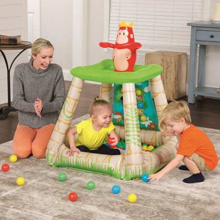 UP IN & OVER Jungletime Inflatable Ball Pit