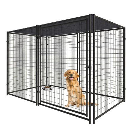 6ft H x 5ft W x 10ft D Welded Wire Kennel Kit