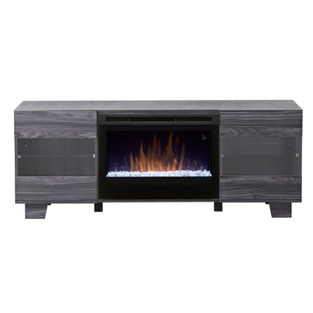 Dimplex max media console electric fireplace with acrylic - Going to bed with embers in fireplace ...