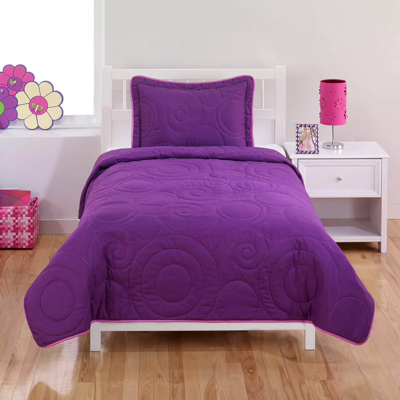 Swirls Bedding Quilt Set