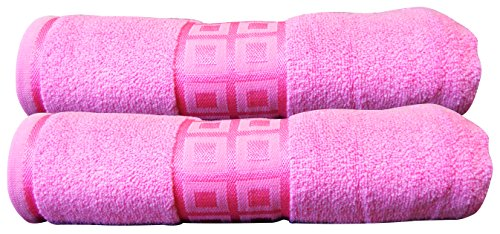 Best Quality 100 % Zero Twist Cotton Super Absorbent Soft Bath Towel Set Piece 2 Blue by SkylineWears