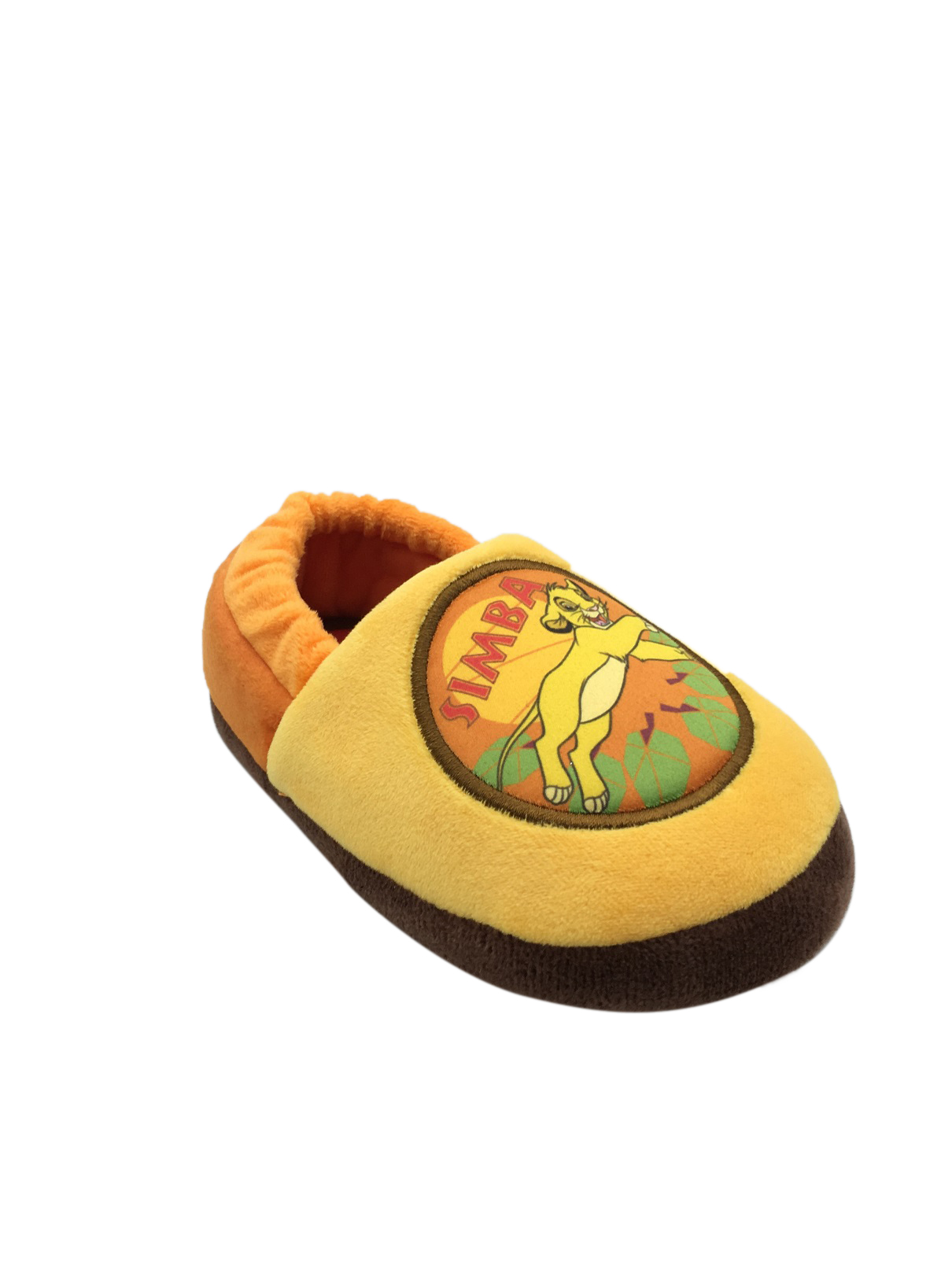 New Toddler size 7-8 Simba The Lion King Slipeers Boys Girls Hard Sole