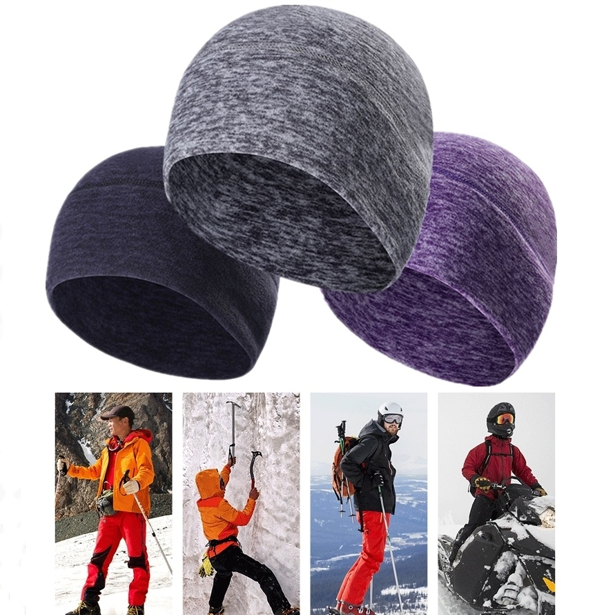 Mens Unisex Hip-Hop Warm Knit Stripe Beanie Ski Cap Hat A230