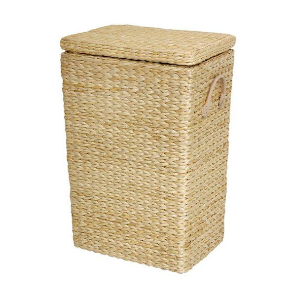 Oriental Furniture FB-LNDRY Rush Grass Laundry Basket