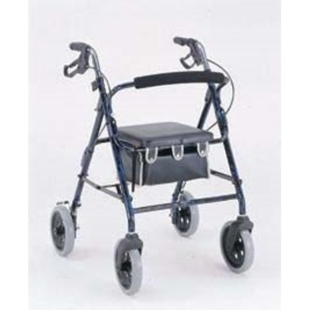 Merits Health Products 4 Wheel Rollator - W463BLUEEA - 1 Each / Each