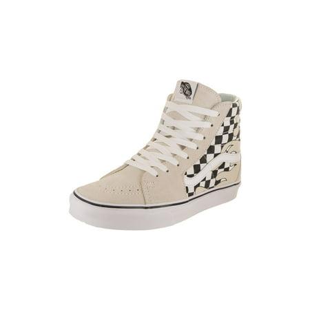 e55ef37663 Vans - Vans Unisex Sk8-Hi (Checker Flame) Skate Shoe - Walmart.com