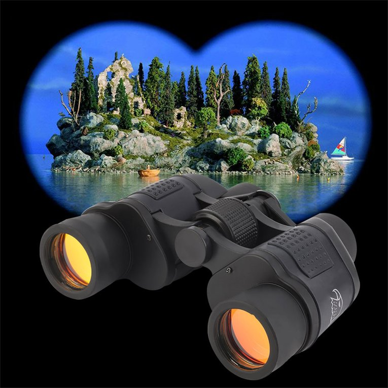 Click here to buy 60x60 3000M HD Hunting Binoculars Telescope Night Vision for Hiking Travel.