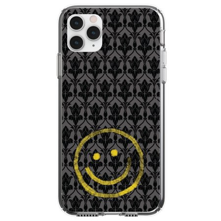 Smiley face skull iPhone 11 case
