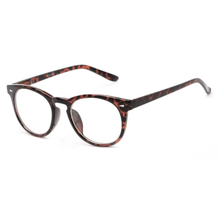 Readers.com The Beethoven Blended Bifocal Round Frame Reader with Blended Bifocal Lenses