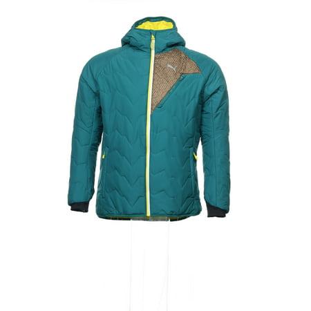 Puma 'Primaloft' Green Insulated Jacket, Size