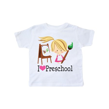 I Heart Preschool Toddler T-Shirt - Preschool Graduation Shirts