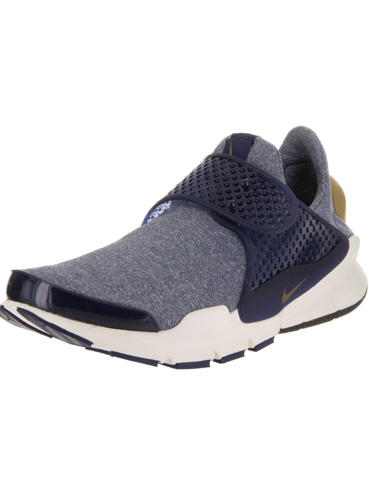 Womens Nike Sock Dart SE Midnight Navy Sail Golden Beige 862412-400