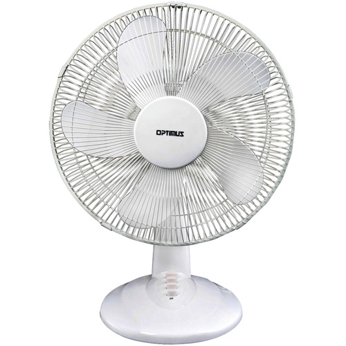 "Optimus 16"" Oscillating Table Fan"