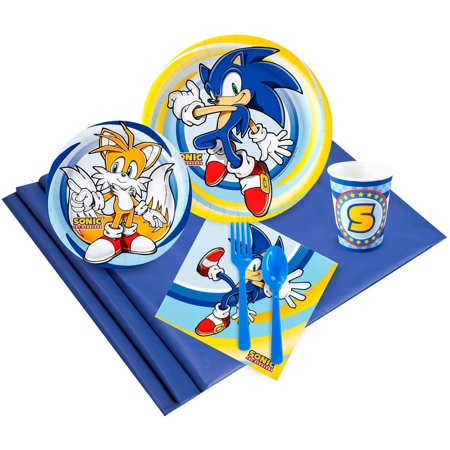 Sonic the HedgeHog 24 Party Pack - Sonic The Hedgehog Birthday Party