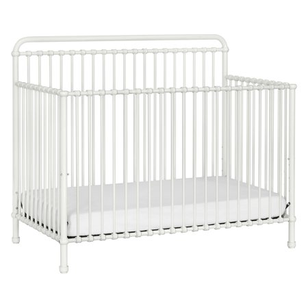 Million Dollar Baby Classic Winston 4-in-1 Convertible Iron Crib Iron Lifetime Crib